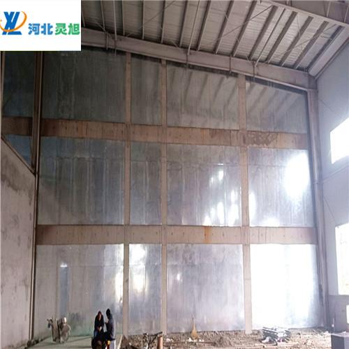 防爆墙厂家产品是纤维水泥板和穿了孔的镀上锌的钢板复合而制成的