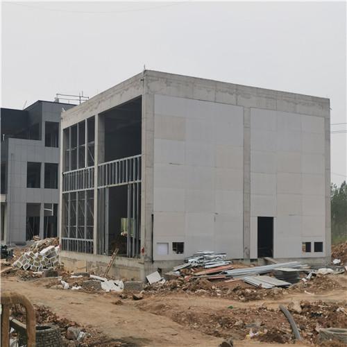 河南漯河工业园污水处理厂抗爆墙工程