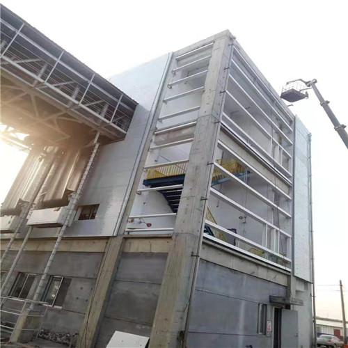 济南水厂防爆墙现场施工