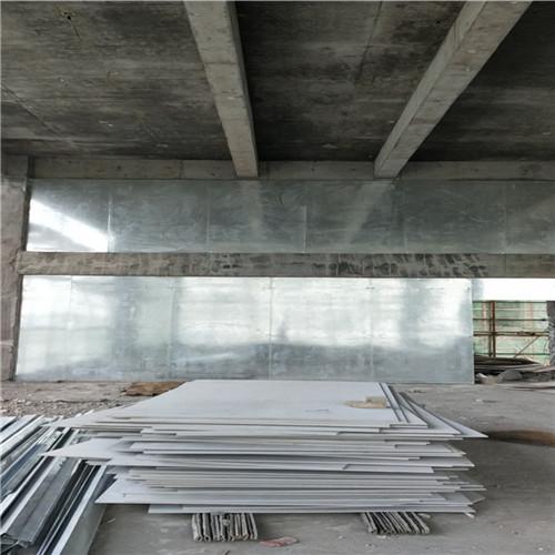 防爆墙青海玉树兵营营房建筑采用耐用钢防火防爆板