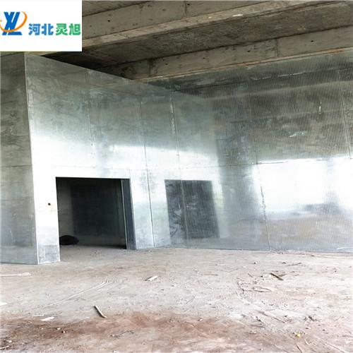 防爆墙纤维水泥复合钢板---灵旭防爆墙