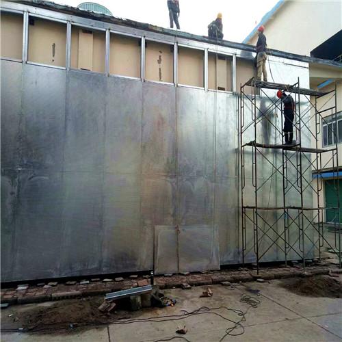 抗爆板防爆墙防御体系能够减轻事故的危害